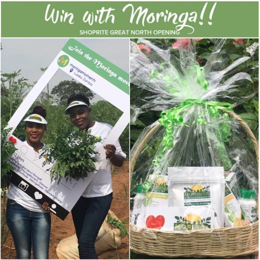 Win a hamper with Moringa worth K400
