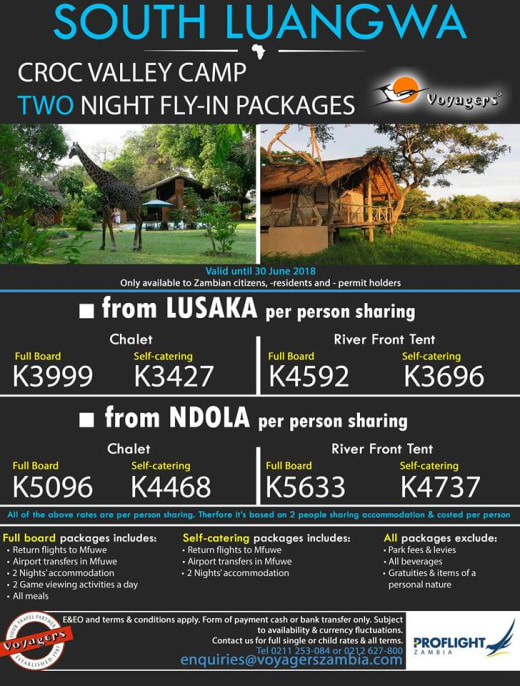 South Luangwa fly-in packages