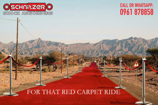 Refurbish your shocks and get that red carpet ride!