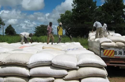 Maize sourced from the open market, suppliers, traders and farmers