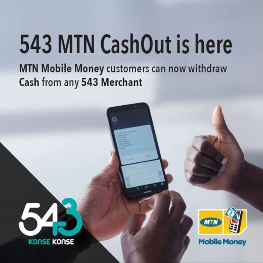543 MTN CashOut is here!