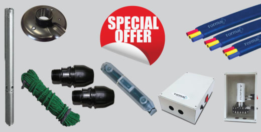 Special offer on Submersible Pump Kits