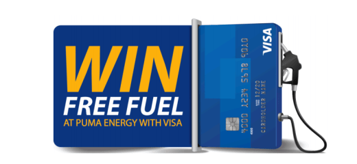 Win Free Fuel at PUMA Energy with VISA