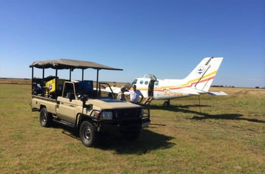 Air charters - fly to remote locations in Zambia, Africa and African Islands