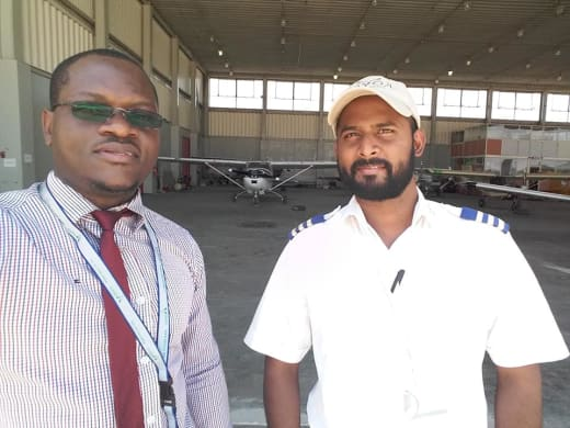 Team of engineers work 24/7 to keep their aircraft in working order