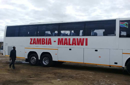 Travel to/from Lusaka, Chipata and Lilongwe