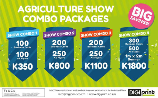 Agriculture Show Printing Packages