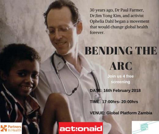 'Bending the Arc' movie screening