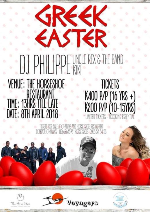 Greek Easter celebration and live show