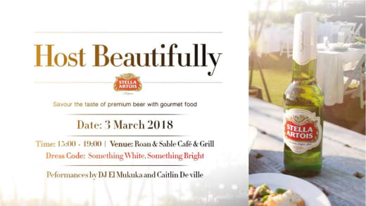 Host Beautifully - Food and Drink Evening
