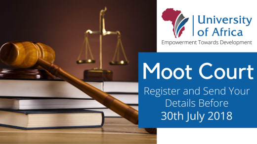 Moot Court registration for Law Students