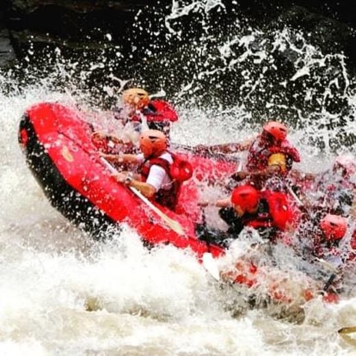 Water rafting season begins in the Zambezi River