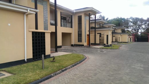 Modern apartments available for rent in Longacres, Lusaka