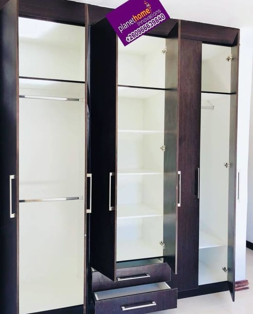 New wardrobe project completed
