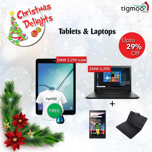 29% off on tablets and laptops at Tigmoo