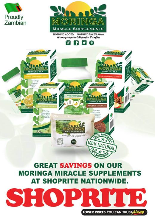 Moringa deals at Shoprite