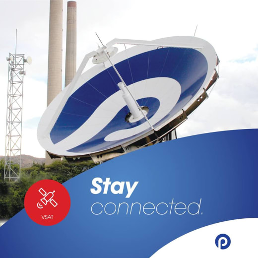 Stay connected in remote locations with Paratus VSAT Solutions