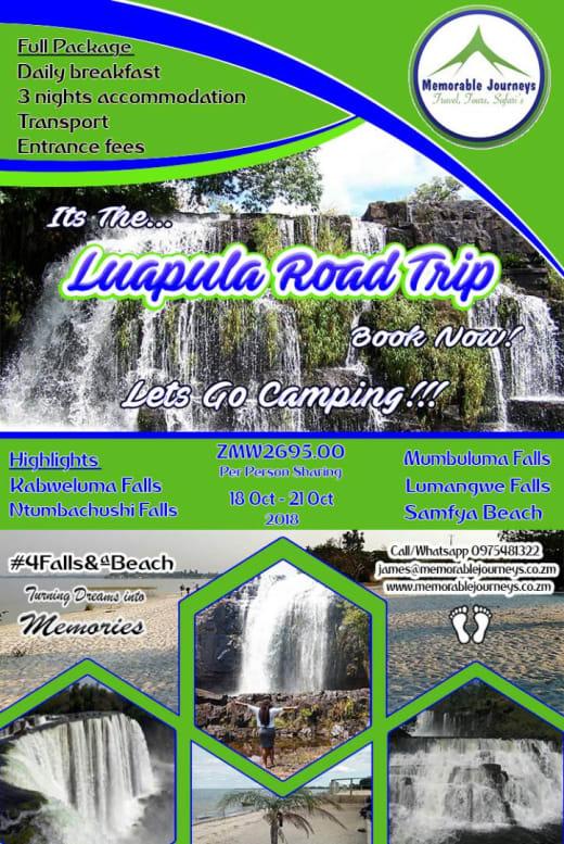 Luapula Road Trip (Glamping in Luapula)