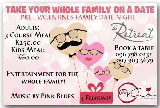 Pre-Valentine's family date night