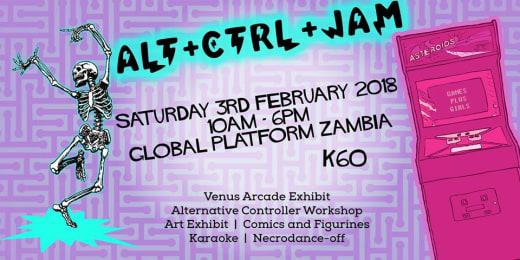 ALT+CTRL+JAM Social Event