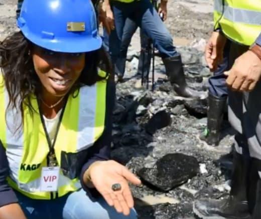 Jewel of Africa visits Kagem Emerald Mine