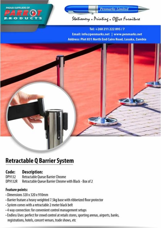 Retractable Q Barrier System
