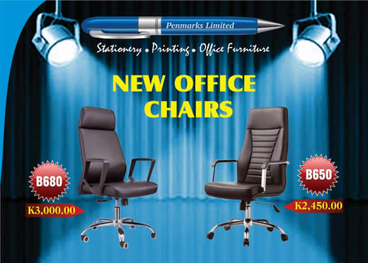 New office chairs available in store