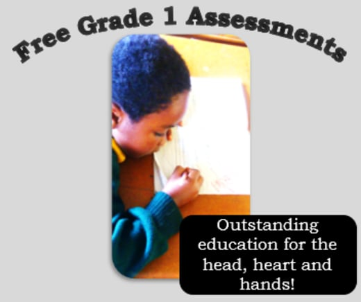 Free Grade 1 entry tests