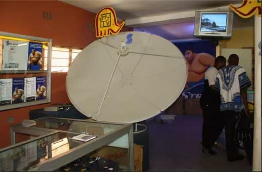 Quality satellite hardware to the Zambian market