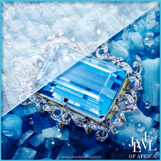 Aquamarine jewellery available