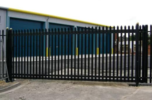 Security fence installations
