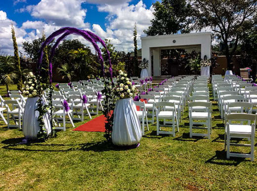 Perfect outdoor venue for your occasion