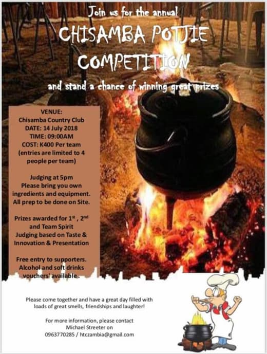 Chisamba Potjie Competition, Horse Show and Farmer's Market