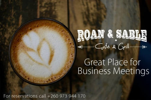 Host your business meeting at the Roan and Sable