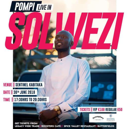 Pompi Live in Solwezi