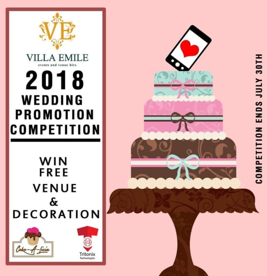 Free Wedding Venue and Decor - Promotion Updates