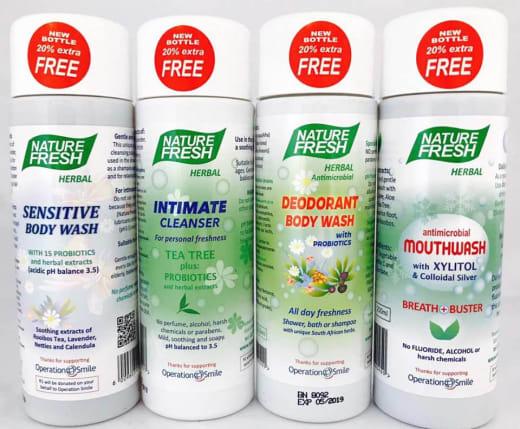 Nature Fresh Herbal Range At Umoyo News By Umoyo Natural Health