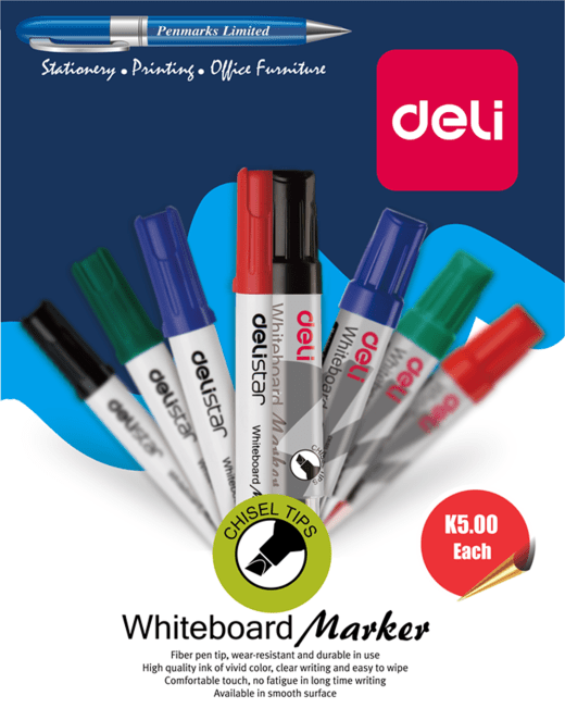 Whiteboard marker pens available for K5 each