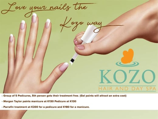Love your nails the KOZO way!!