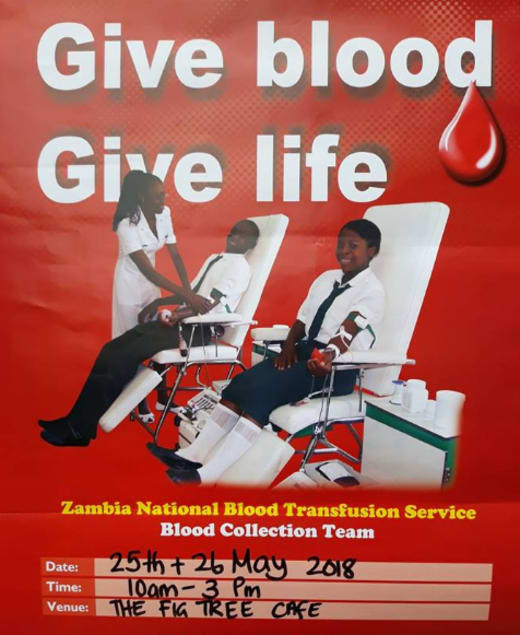 Give Blood, Give Life - Blood donation day