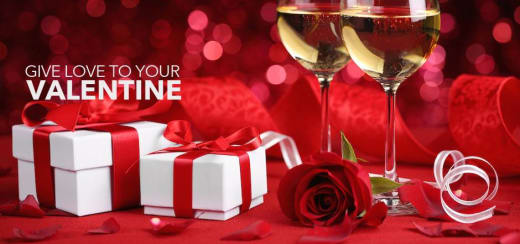 Valentine's spa offers