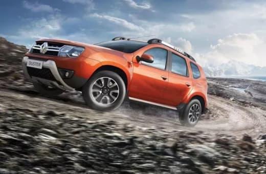 Brand new Mahindra, Ssangyong and Renault cars