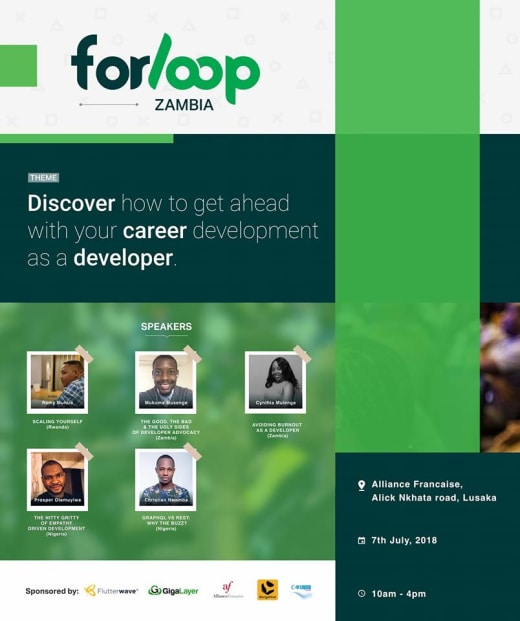 Forloop Zambia launch
