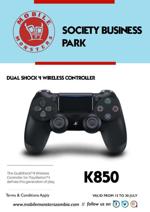 Wireless PS4 controller available in stock