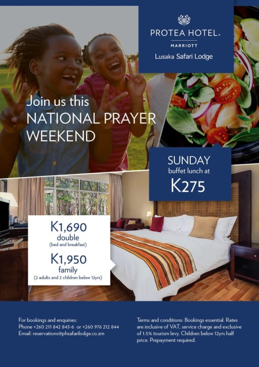 National Prayer Day weekend discounts