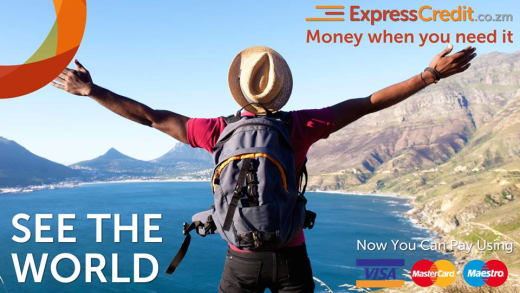 Travel the world with an ExpressCredit Zambia loan