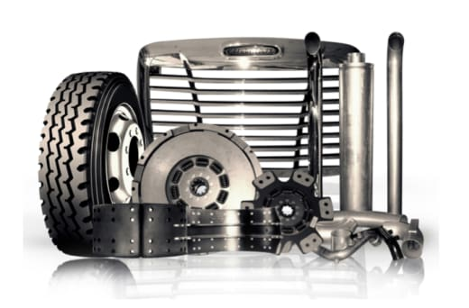 Heavy duty vehicle parts and accessories