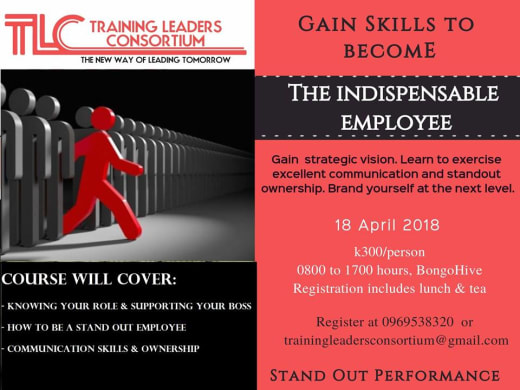 The Indispendable Employee - Course