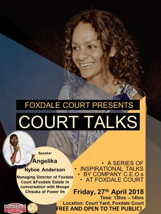 April Court Talks - Inspiring Business Professionals
