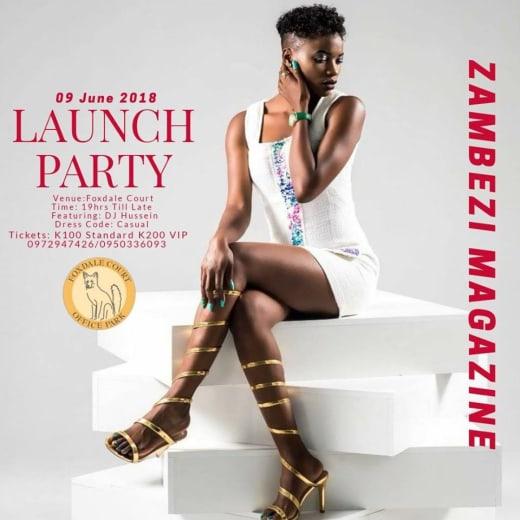 Zambezi Magazine launch party